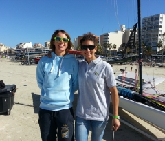 "Giulia Conti: ""It's important for the sport of sailing to have a class such as the 49er FX"""